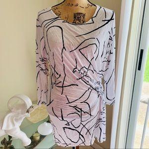 Comfy USA printed tunic top
